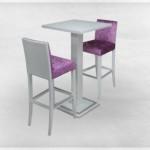 Stol 5020 BARSKI, stolice 1002
