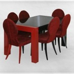 Stol 5040D razvlačni, stolice 1013